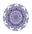 Colorful hand drawn doodle mandala vector image vector image