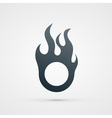 fire design element vector image vector image