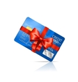 Gift Credit Card vector image vector image