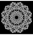 lace round 14 380 vector image vector image