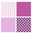 set of abstract stylish pattern stylish pattern vector image vector image