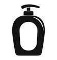 soap gel dispenser icon simple style vector image