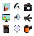 studio and photo icon vector image vector image