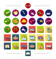 tools equipment architecture and other web icon vector image