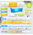 Web elements buttons and labels vector | Price: 1 Credit (USD $1)