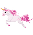 beautiful unicorn vector image vector image