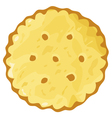 biscuit cookie cracker vector image vector image