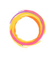 colorful icon of circle on vector image vector image