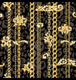 dark seamless pattern vector image