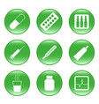 drug-store - web icons vector image vector image