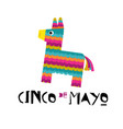 mexican fiesta banner and poster design vector image vector image