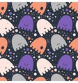 Pattern colorful Ghost vector image vector image
