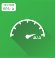 speedometer tachomete icon business concept max vector image
