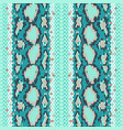 structure snake skin seamless pattern for vector image vector image