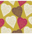 vintage love print vector image vector image