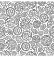 virus and bacteria hand drawn doodles seamless vector image