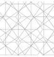 abstract hexagon pattern background vector image vector image