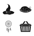 accessories cafe restaurant and other web icon vector image