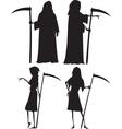 Grim reapers vector image vector image