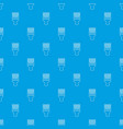 haircut fix comb pattern seamless blue vector image vector image