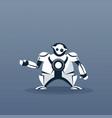 modern robot artificial intelligence futuristic vector image