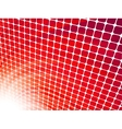Red rays light 3D vector image vector image