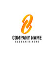 spiral logo for business office vector image vector image