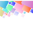 abstract geometric seamless color background vector image vector image