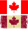 Canadian flags vector image vector image