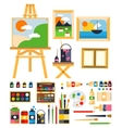 Painting Set vector image vector image