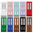 doors vector image