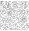 abstract black and white color seamless hatching vector image