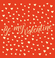 card on valentine day vector image vector image