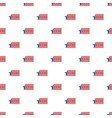 constitution day we usa people pattern seamless vector image vector image