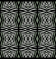 geometry abstract seamless pattern background vector image vector image