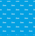 lighthouse pattern seamless blue vector image vector image