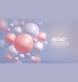 liquid fluid background vector image vector image
