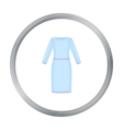Long Dress icon of for web and vector image