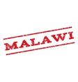 Malawi Watermark Stamp vector image vector image
