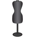Mannequin for sewing vector image
