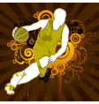 sports man vector image vector image