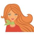 Beauty portrait vector image