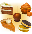 Cake and Pastry vector image