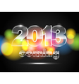 2013 is coming vector image vector image