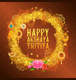 akshay tritiya religious festival of india vector image vector image