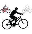 bike - vector image vector image