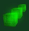 Emerald Cubic vector image