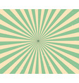 modern stripe rays background with vintage vector image