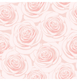 pink rose seamless pattern vector image vector image