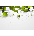 Tech shapes design vector image vector image
